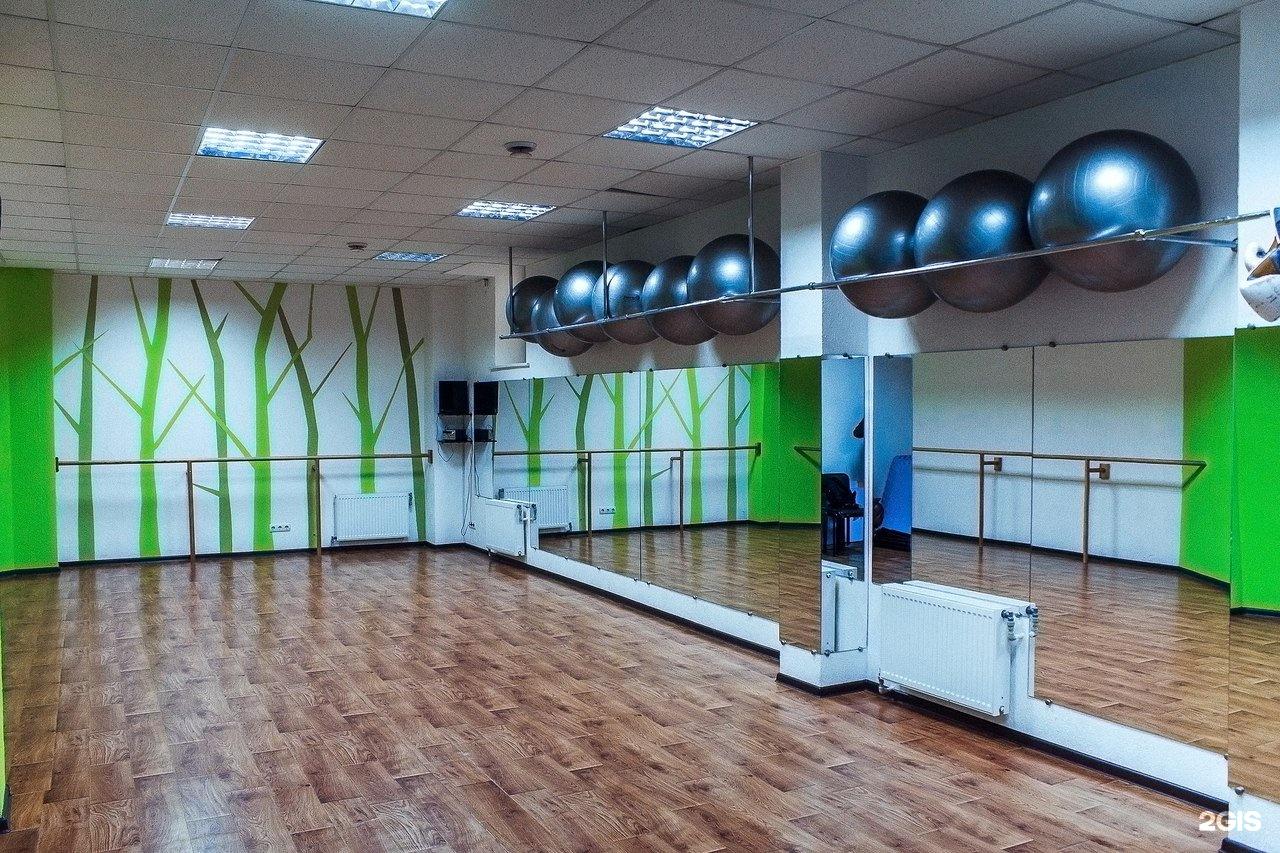 Интерьер фитнес клуб