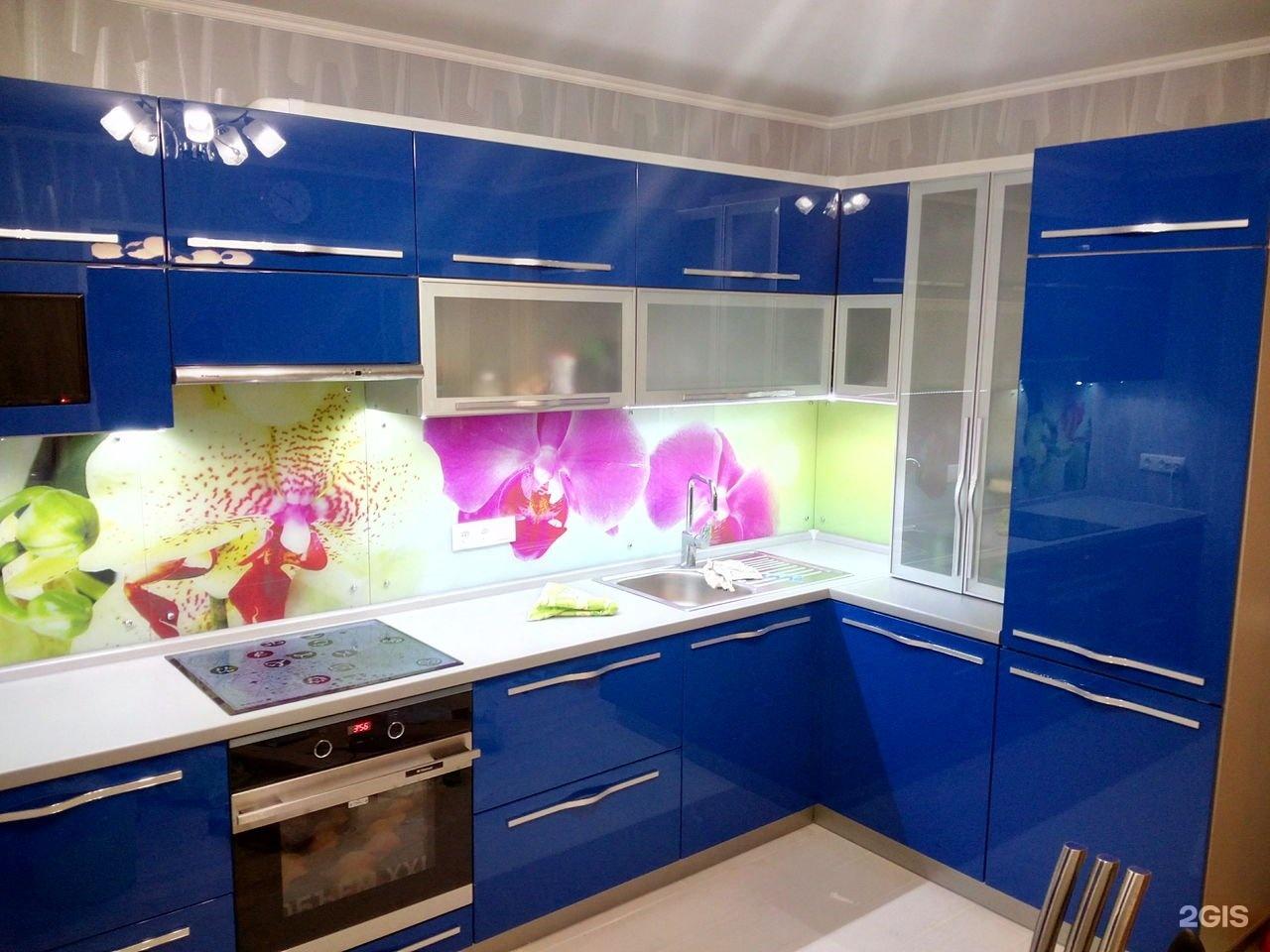 Кухни эмаль фото цветов