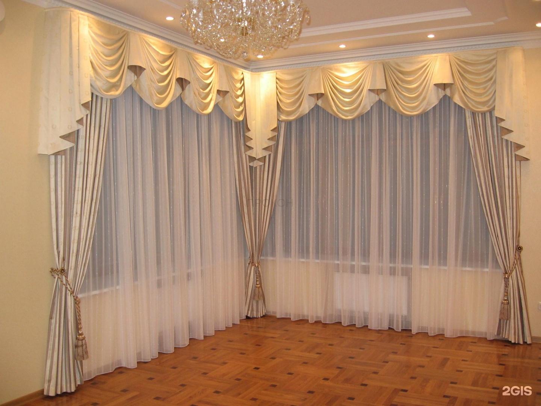 Пошив штор в зал своими руками фото