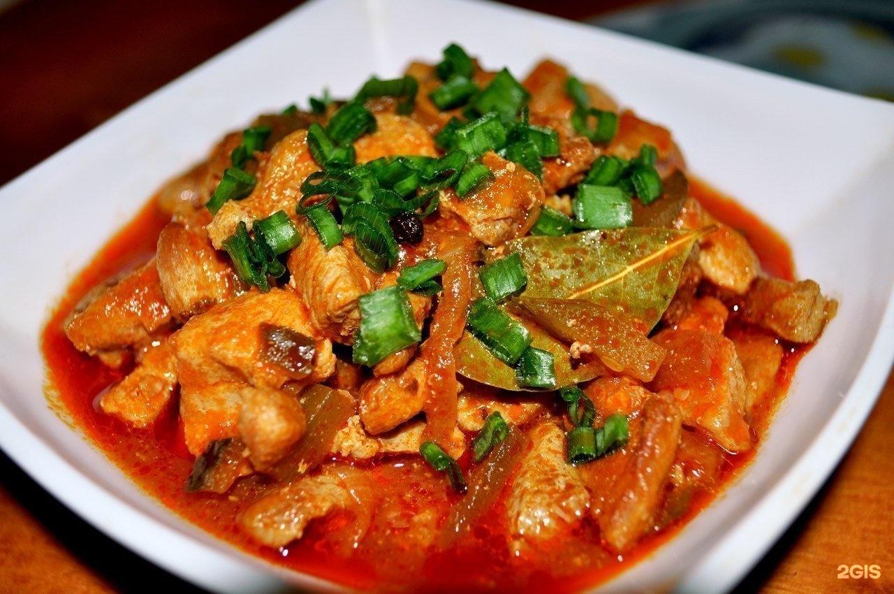 Рецепт азу по татарски из говядины пошагово