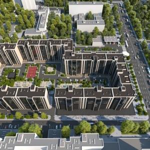 В Киеве продолжает строиться ЖК Greenville Park