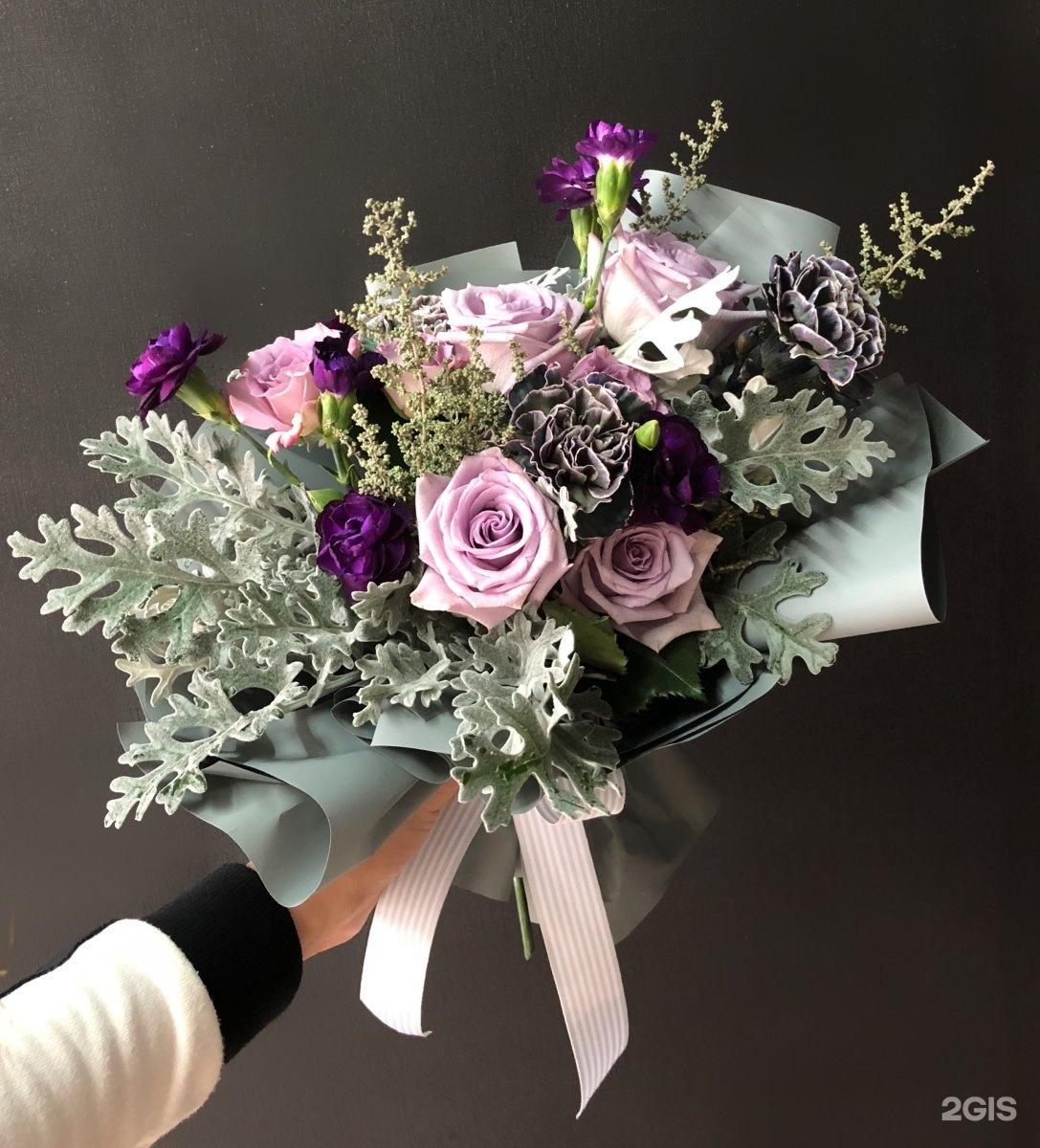 Подарочный лизиантус, цветы тюмень версаль