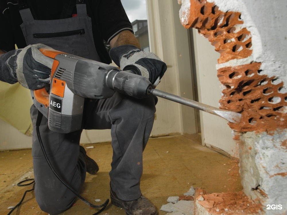 долбление бетона