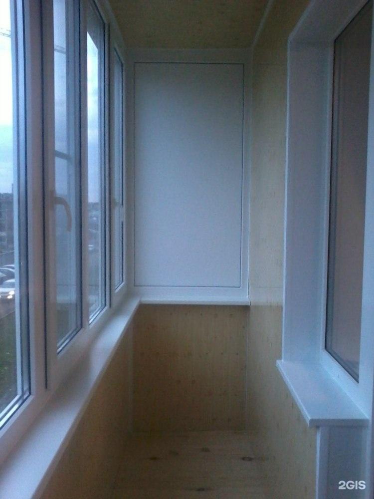 Услуги - обшивка балконов и лоджий.