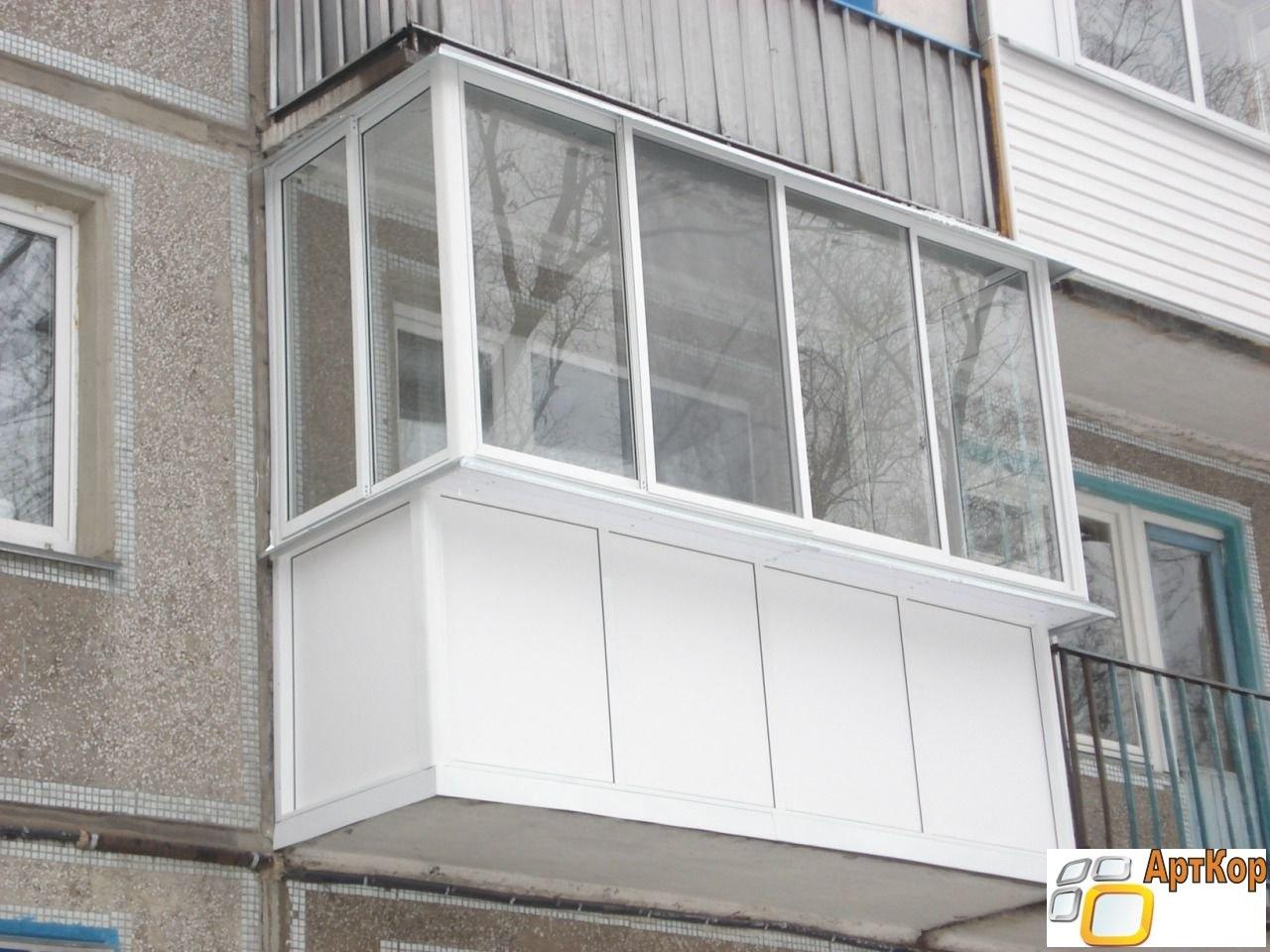 Балконы и лоджии отделка под ключ. в омске от компании алюми.