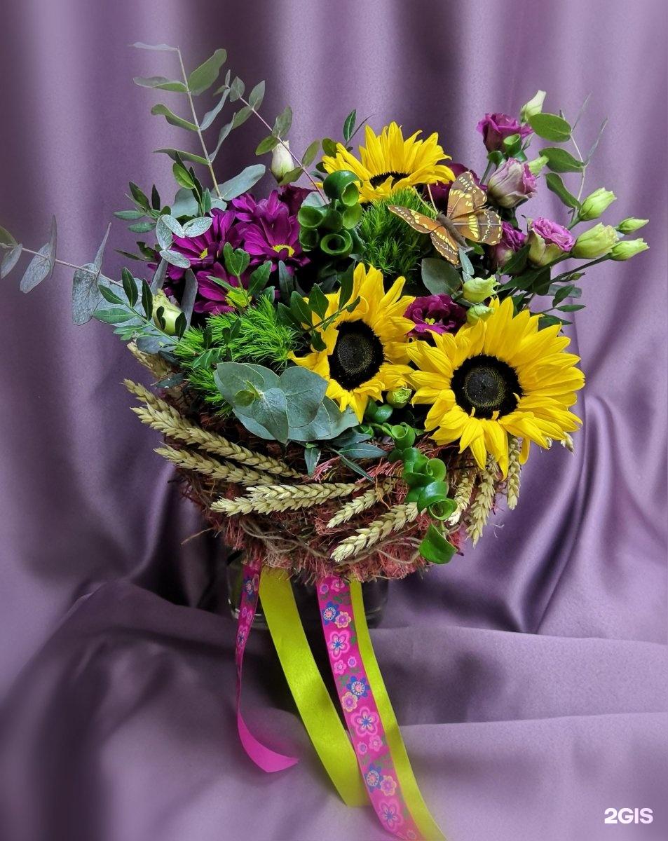 Заказать цветы на дом заозерный красноярск, букеты
