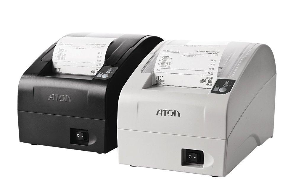 Печать картинки на принтере чеков, виде
