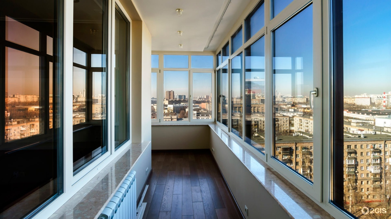 Остекление балконов и лоджий, пластиковые окна в хабаровске .